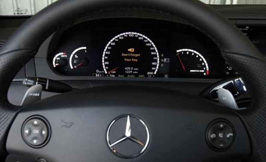 2008 Mercedes-Benz CL63 AMG - Slide 12