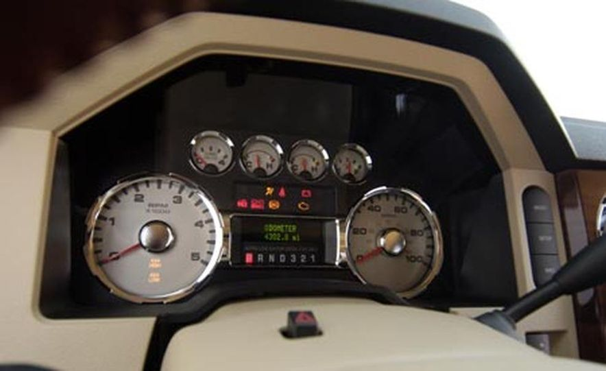2008 Ford F-250 Super Duty King Ranch 4x4 crew cab - Slide 13