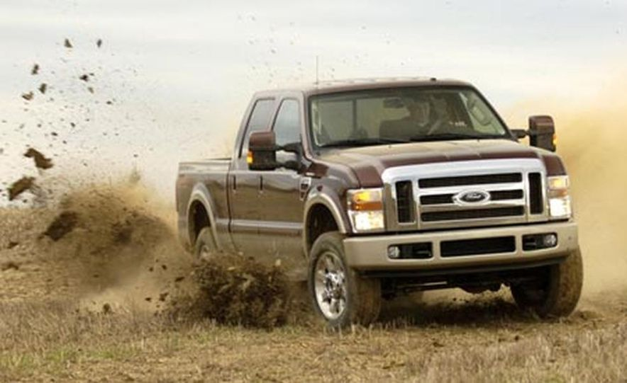 2008 Ford F-250 Super Duty King Ranch 4x4 crew cab - Slide 1