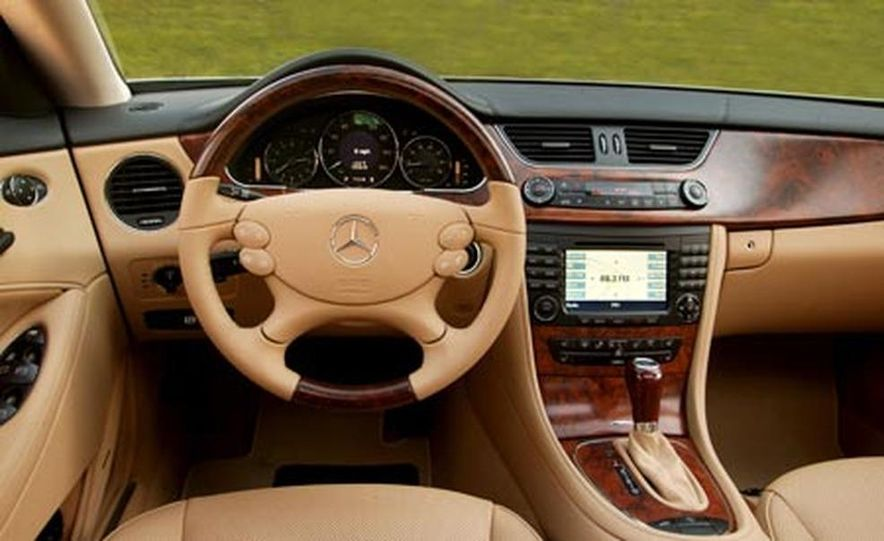 2007 Mercedes-Benz CLS550 - Slide 16