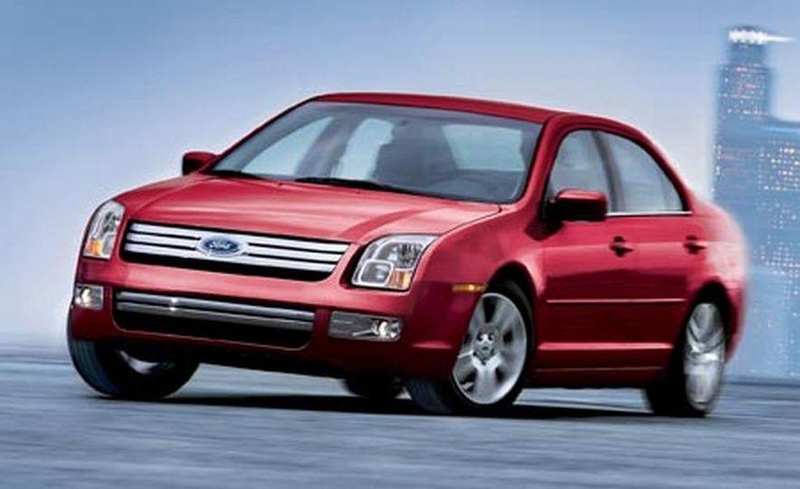 2007 Ford Fusion SEL - Slide 9