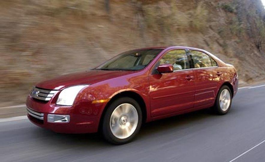 2007 Ford Fusion SEL - Slide 13