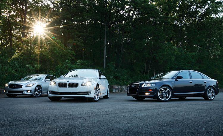 2010 Audi A6 3.0T Quattro vs. 2011 BMW 535i, 2011 Infiniti M37