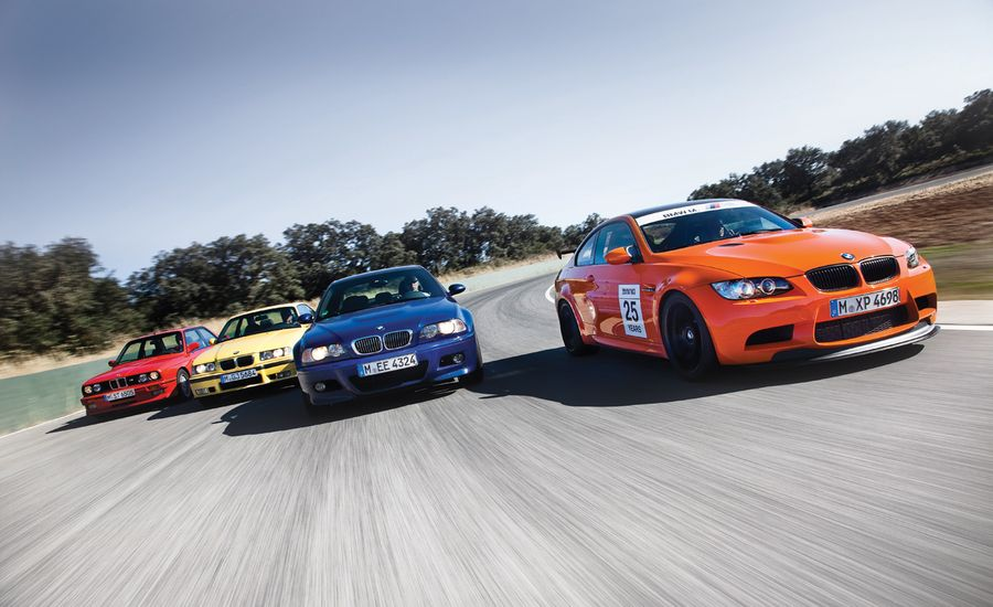 BMW M All Four Generations TrackTested Feature Car And Driver - Bmw 25