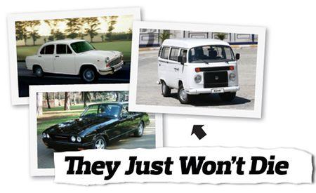 Cars That Just Won't Die: Hindustan Ambassador, Bristol Blenheim 3, Volkswagen Kombi