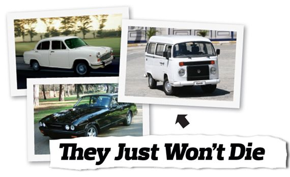 Cars That Just Won't Die: Hindustan Ambassador, Bristol Blenheim 3, Volkswagen Kombi