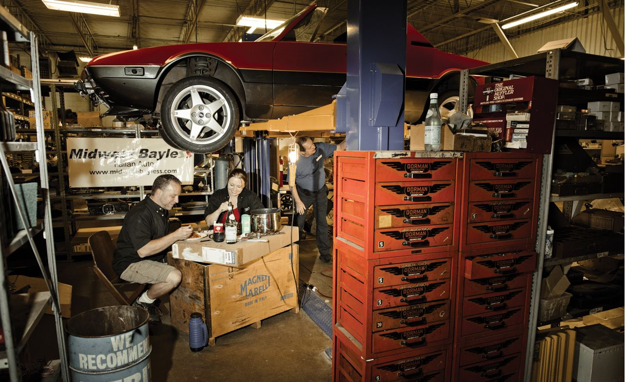 Ancient Grease: Inside the Midwest-Bayless Fiat Shop