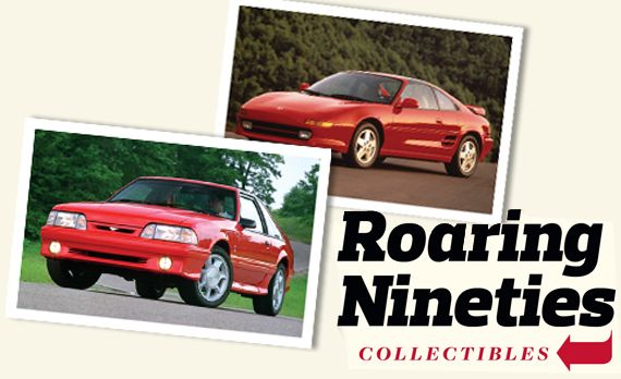 Nineties Collectibles (Part Two): Toyota MR2 Turbo and Ford Mustang Cobra