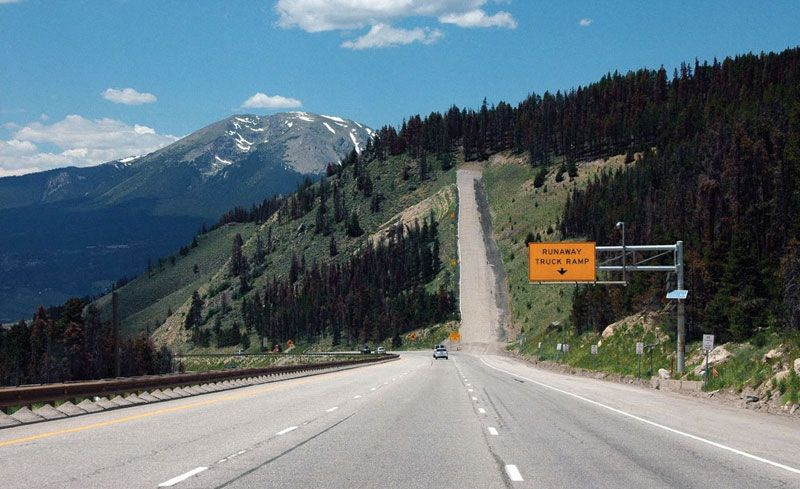 Runaway Truck Ramps Explained Feature Car And Driver