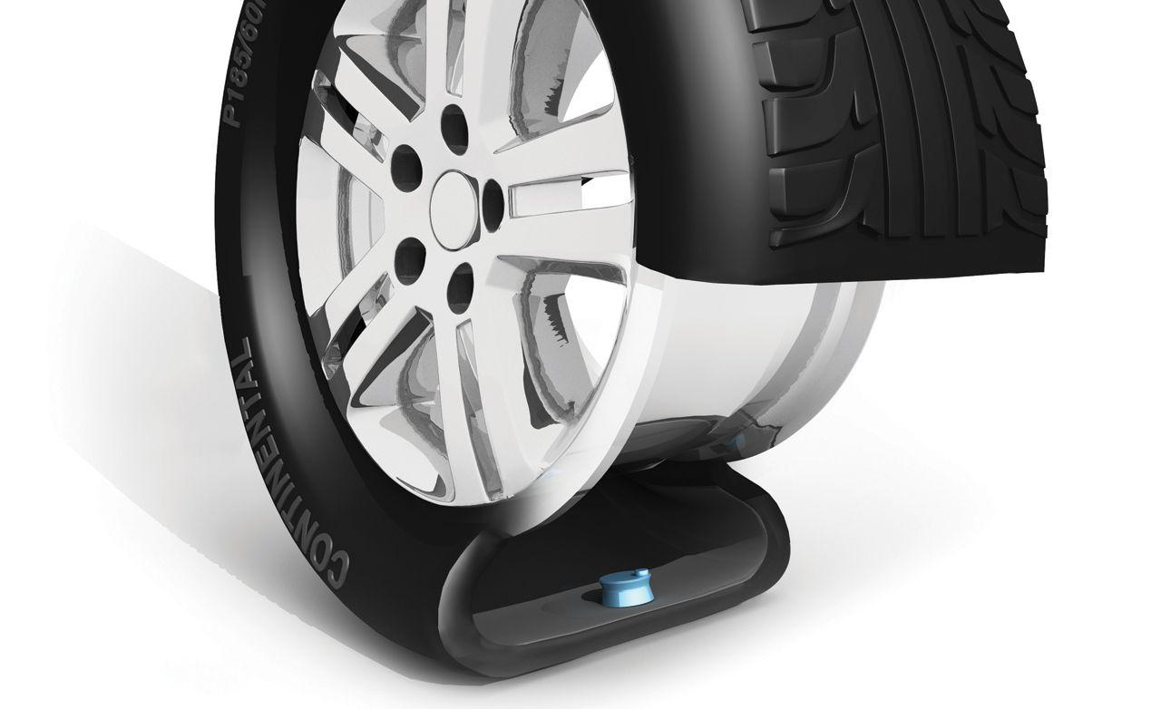 Tire pressure sensor and its application