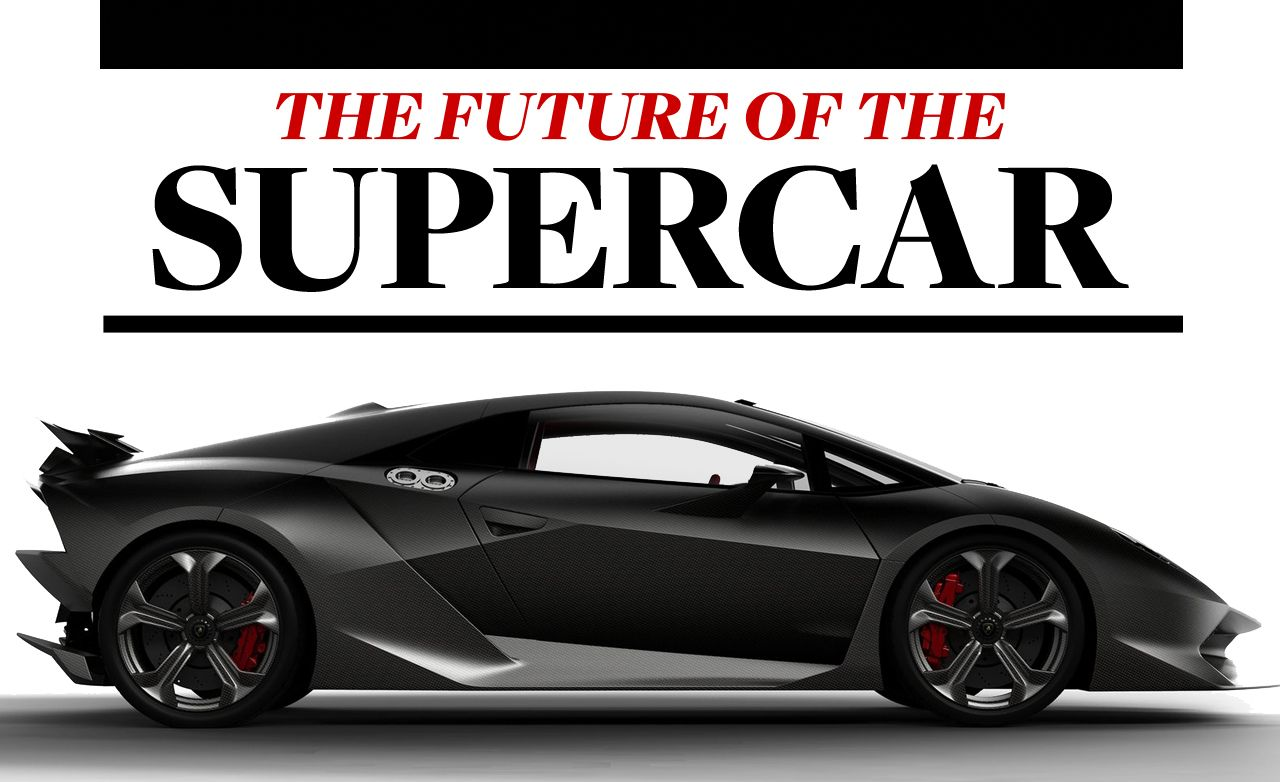 2010 Paris Auto Show: The Future of the Supercar