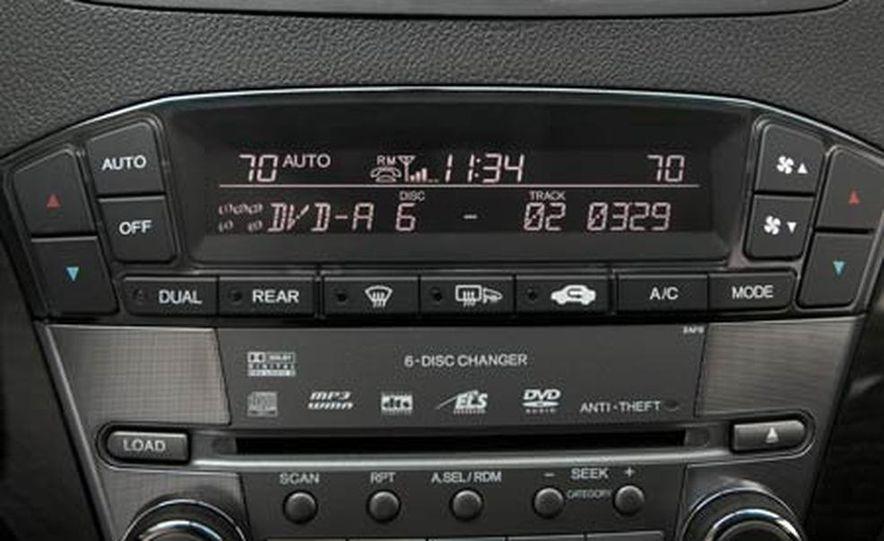 2007 Acura MDX instrument cluster and steering wheel - Slide 87
