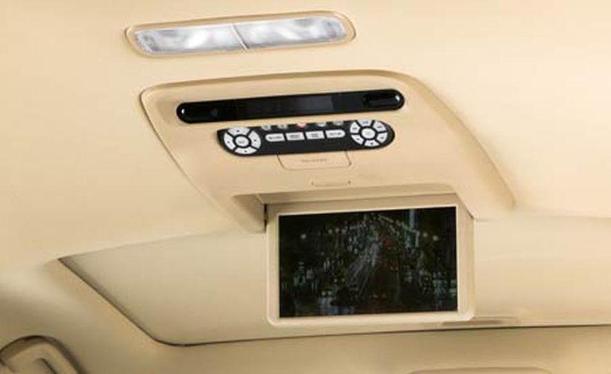 2007 Acura MDX instrument cluster and steering wheel - Slide 94