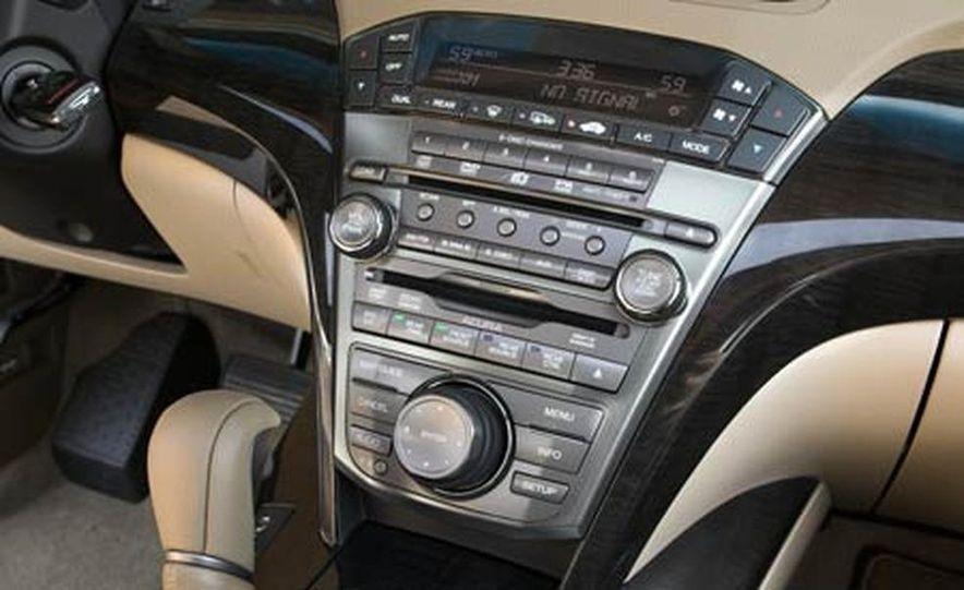 2007 Acura MDX instrument cluster and steering wheel - Slide 3