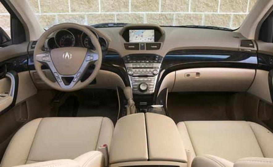 2007 Acura MDX instrument cluster and steering wheel - Slide 4