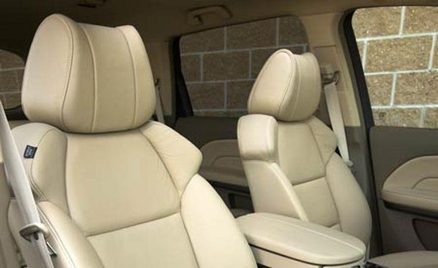 2007 Acura MDX instrument cluster and steering wheel - Slide 5