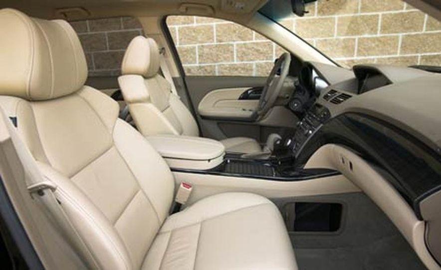 2007 Acura MDX instrument cluster and steering wheel - Slide 6