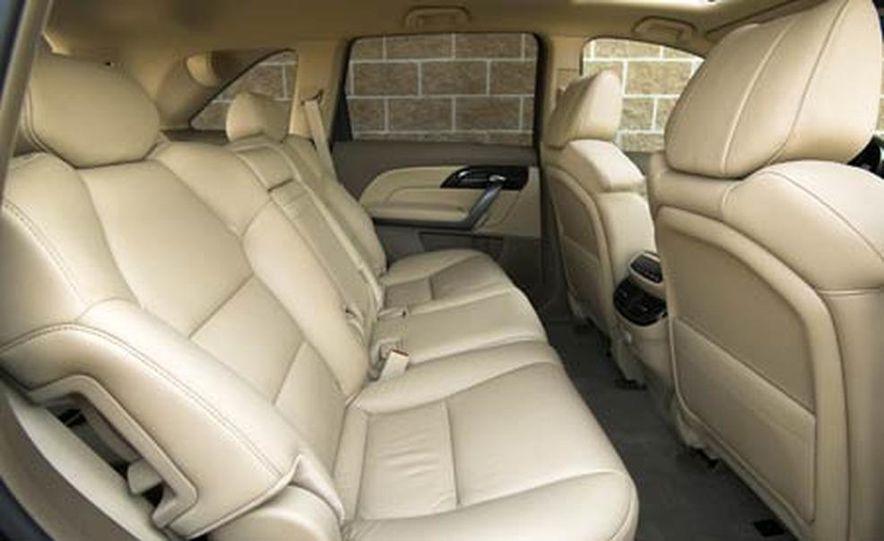 2007 Acura MDX instrument cluster and steering wheel - Slide 7