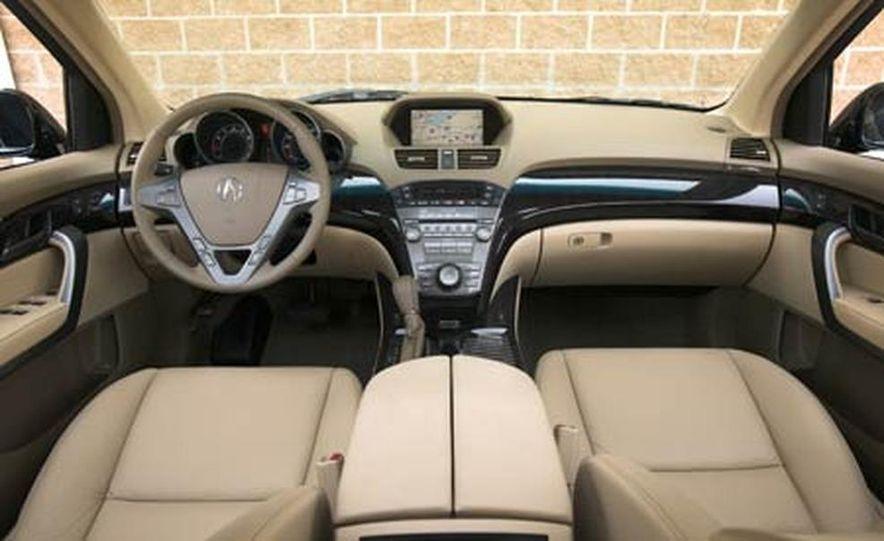 2007 Acura MDX instrument cluster and steering wheel - Slide 11