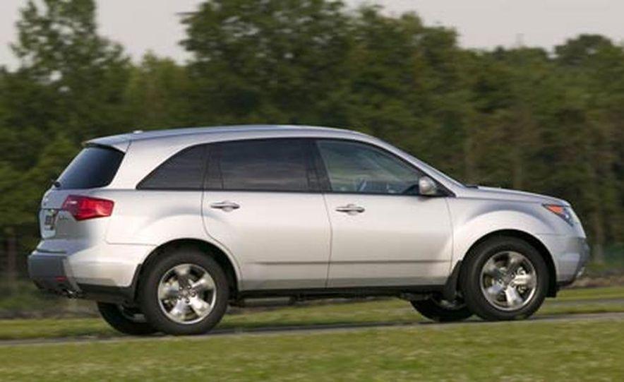 2007 Acura MDX instrument cluster and steering wheel - Slide 44