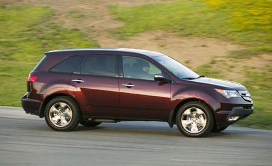 2007 Acura MDX instrument cluster and steering wheel - Slide 63
