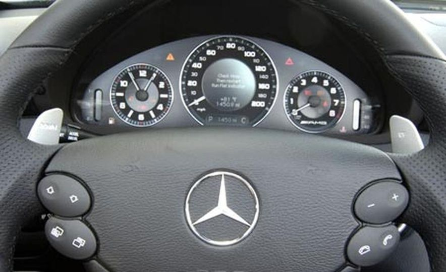 2007 Mercedes-Benz CLK63 AMG - Slide 10
