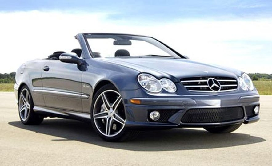 2007 Mercedes-Benz CLK63 AMG - Slide 1