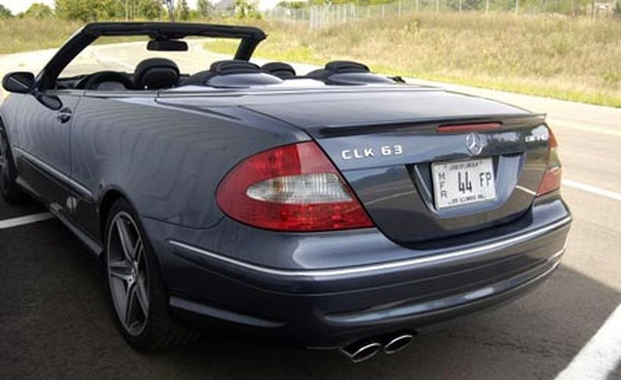 2007 Mercedes-Benz CLK63 AMG - Slide 5