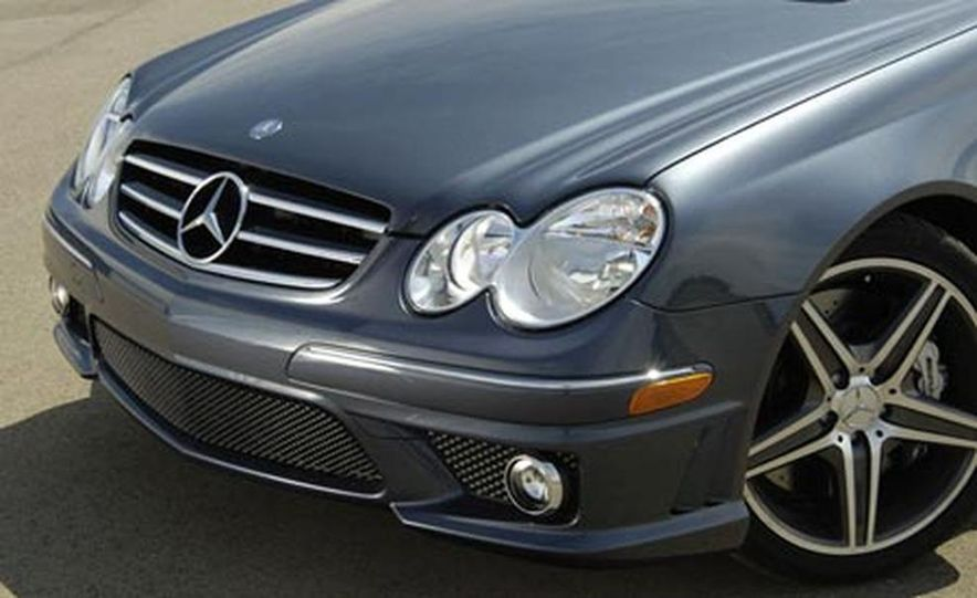 2007 Mercedes-Benz CLK63 AMG - Slide 7