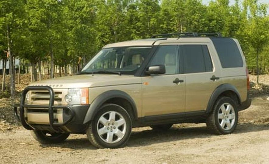 Land Rover LR3 HSE - Slide 8