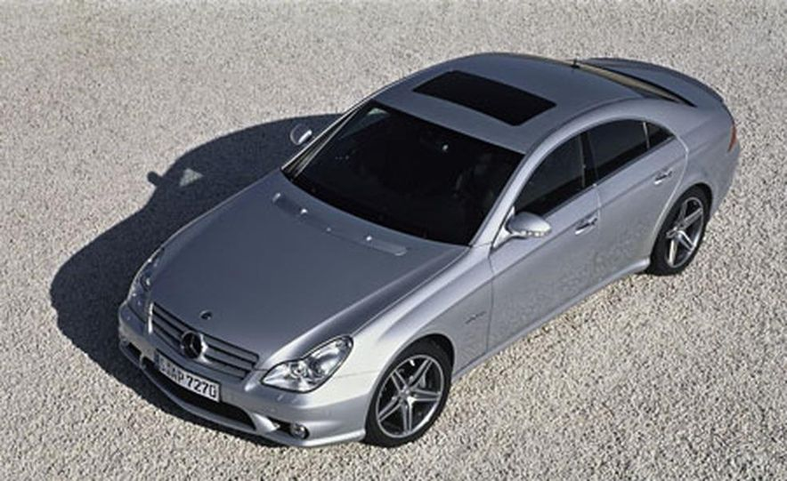 2007 Mercedes-Benz CLS63 AMG - Slide 1