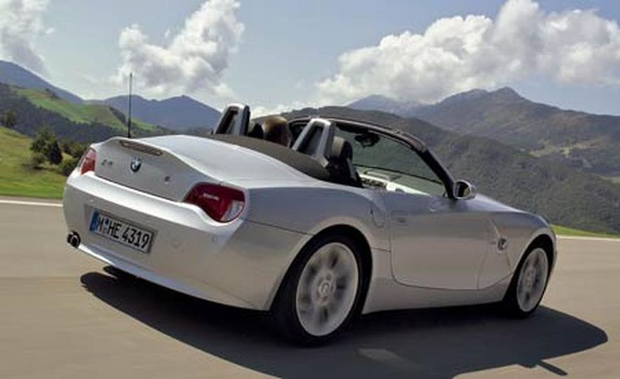 2006 BMW Z4 3.0si roadster - Slide 11