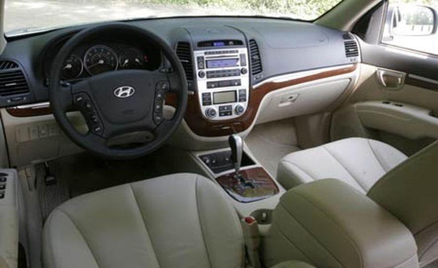 2007 Hyundai Santa Fe Limited - Slide 19