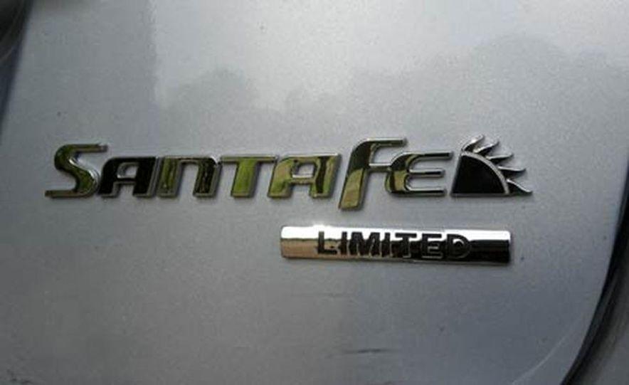 2007 Hyundai Santa Fe Limited - Slide 28