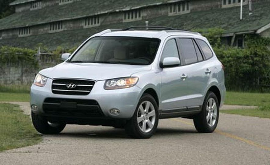 2007 Hyundai Santa Fe Limited - Slide 7
