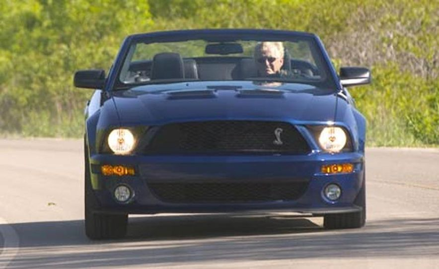 2007 Ford Mustang Shelby GT500 convertible - Slide 4