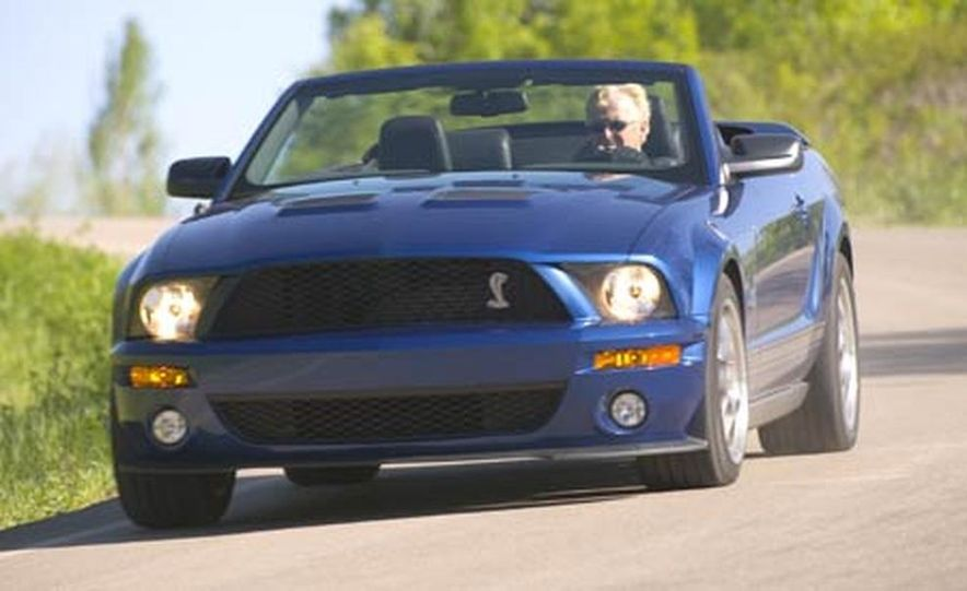 2007 Ford Mustang Shelby GT500 convertible - Slide 6