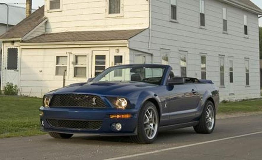 2007 Ford Mustang Shelby GT500 convertible - Slide 16
