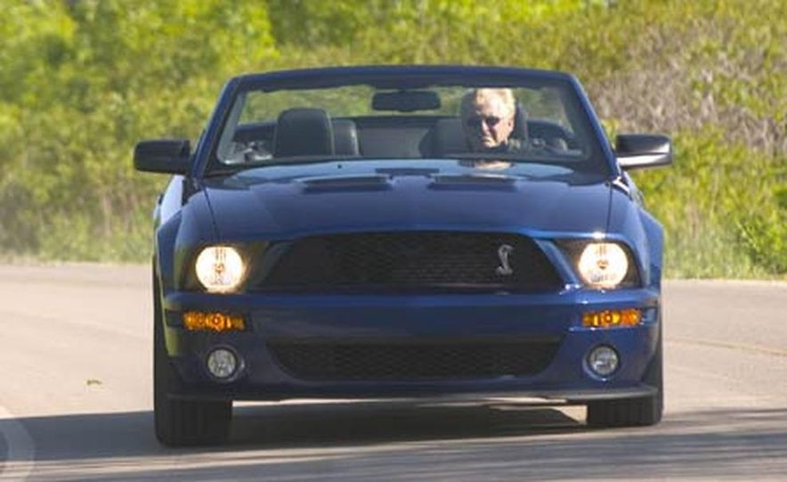 2007 Ford Mustang Shelby GT500 convertible - Slide 20