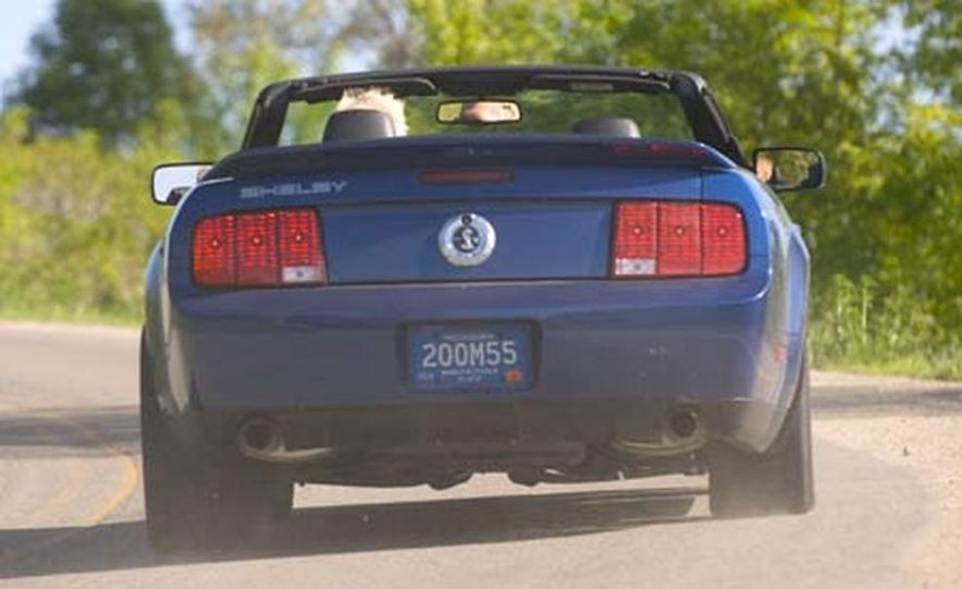 2007 Ford Mustang Shelby GT500 convertible - Slide 21