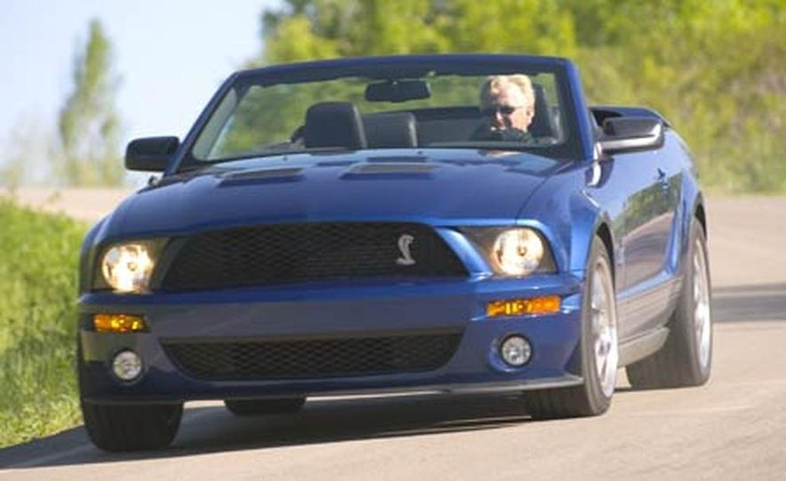2007 Ford Mustang Shelby GT500 convertible - Slide 22