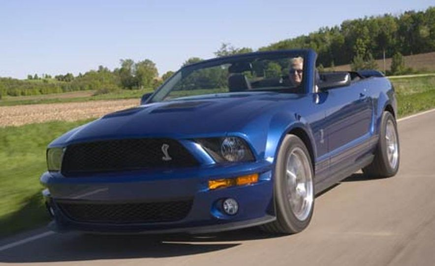 2007 Ford Mustang Shelby GT500 convertible - Slide 23
