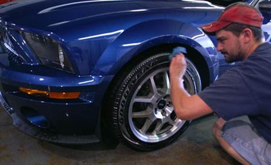 2007 Ford Mustang Shelby GT500 convertible - Slide 39