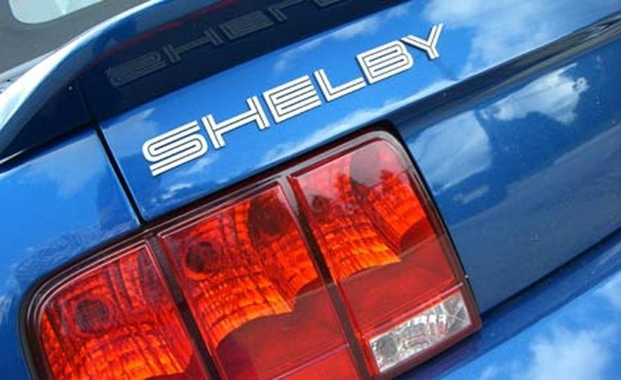 2007 Ford Mustang Shelby GT500 convertible - Slide 41