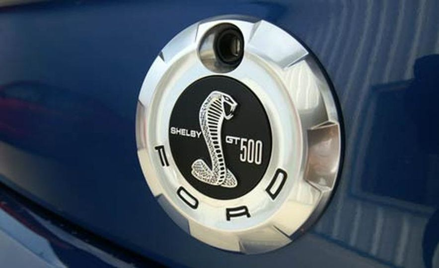 2007 Ford Mustang Shelby GT500 convertible - Slide 42