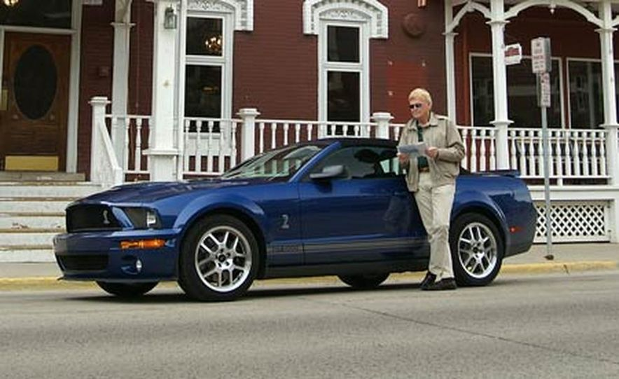 2007 Ford Mustang Shelby GT500 convertible - Slide 46