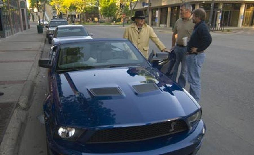 2007 Ford Mustang Shelby GT500 convertible - Slide 47