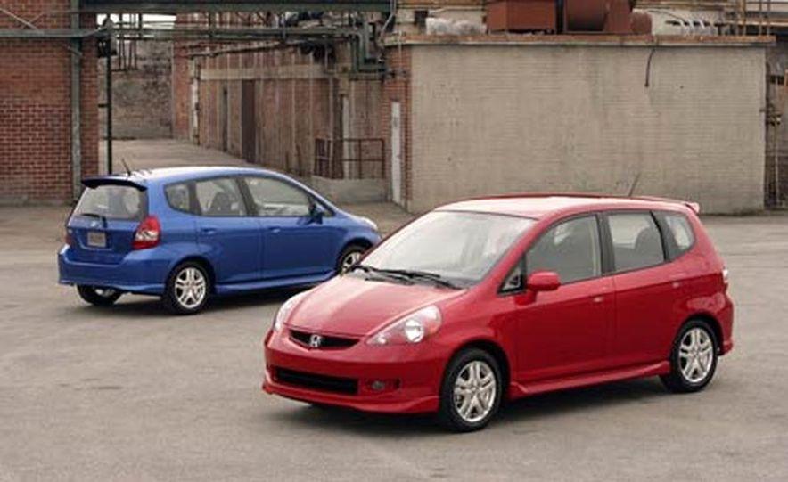 2007 Honda Fit Sport - Slide 17