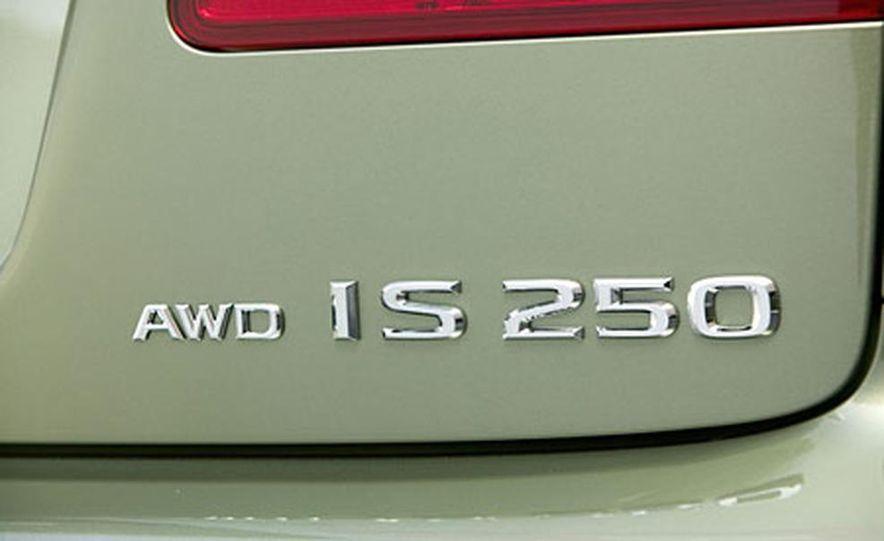 2006 Lexus IS250 - Slide 16
