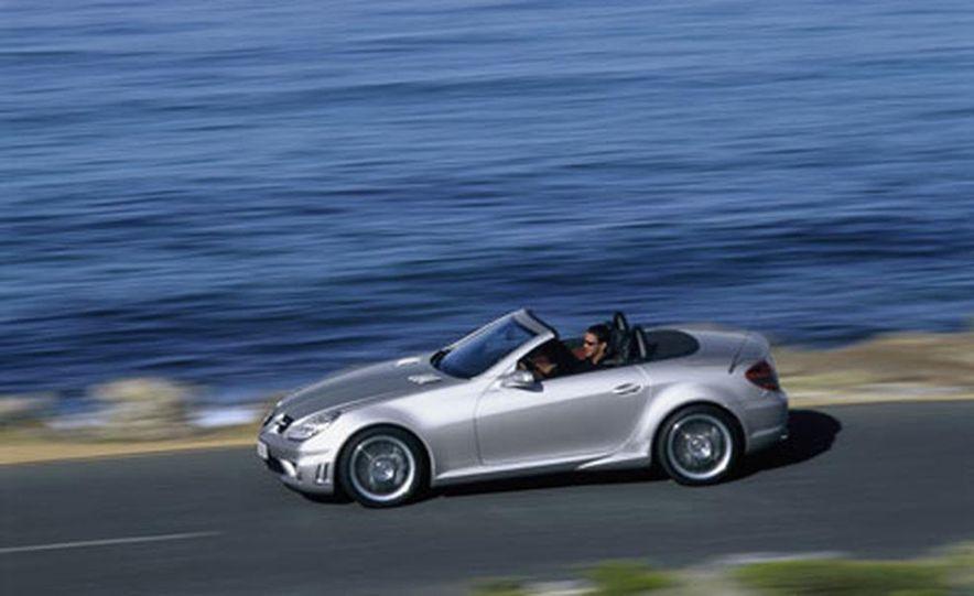 Mercedes-Benz SLK55 AMG - Slide 7
